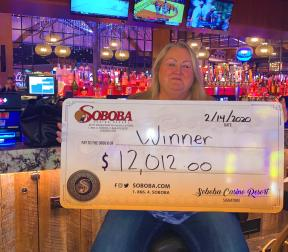 Congratulations to Barbara C, winning a jackpot of $12,021.00 on our Winners World