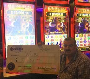 Congratulations to Eduardo A, winning a jackpot of $10,636.00 on our Dancing Drums.