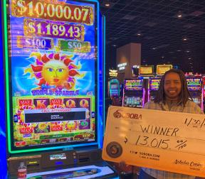 Congratulations to Kaye L, winning a jackpot of $13,015.00 on our Solstice Celebration