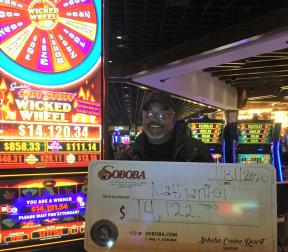 Congratulations to Nathaniel F, winning a jackpot of $14,122.00 on our Smokin Hot Stuff