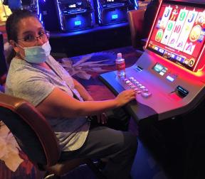 Congratulations to Maria, winning a jackpot of $1,200.00